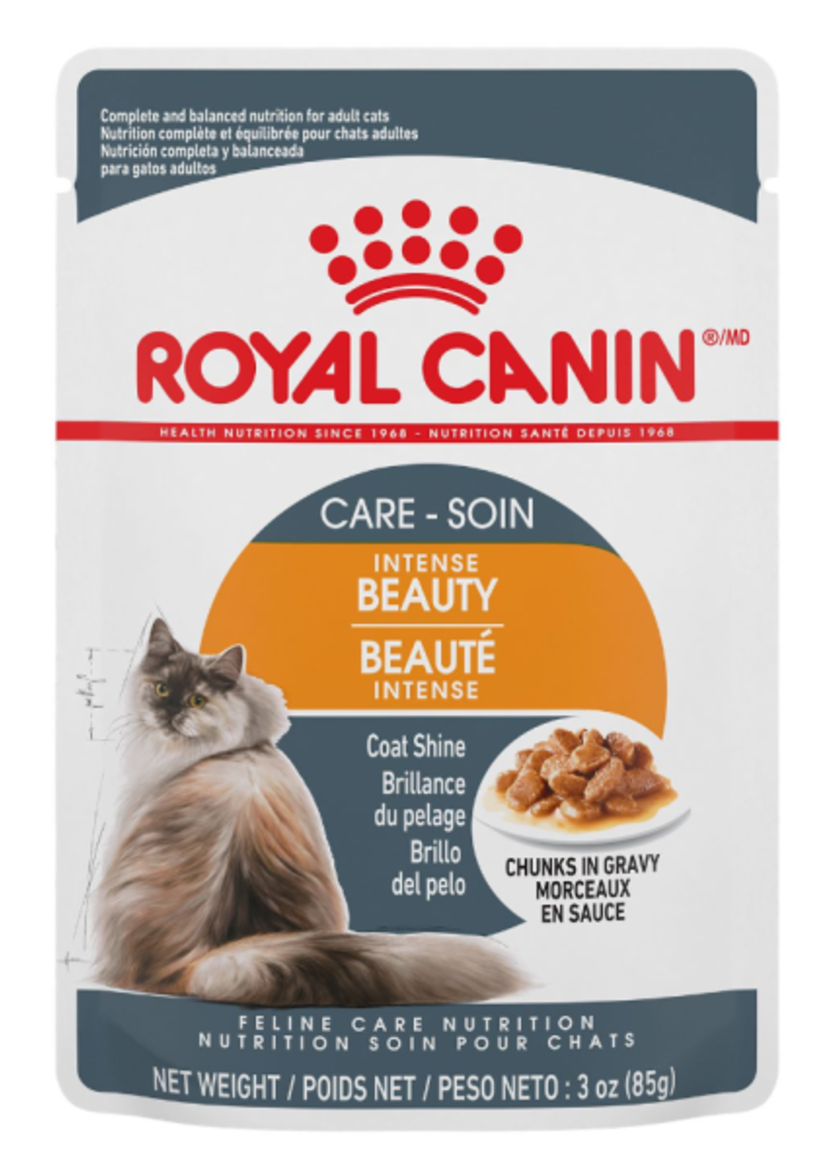Intense Beauty Cat Food 85G Pouch