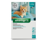 Advantage II Large Cat 2 Doses 4kg