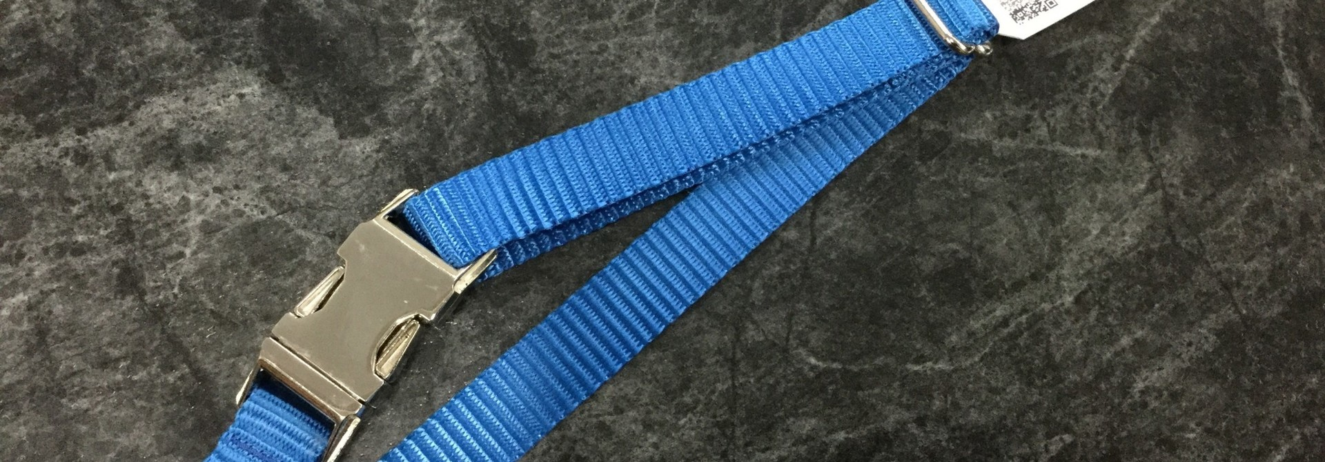"3/4"" Adjustable Dog Collar with Mighty Metal Buckle Buckle Royal Blue"