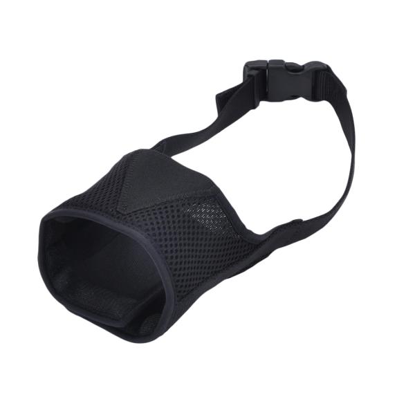 Adjustable Comfort Muzzle -Black-Medium-1