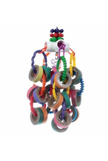 HR Smart Play Prt Toy, Bagel Cascade