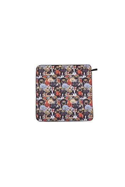 HydroPet Towel Dog Print 30x29in