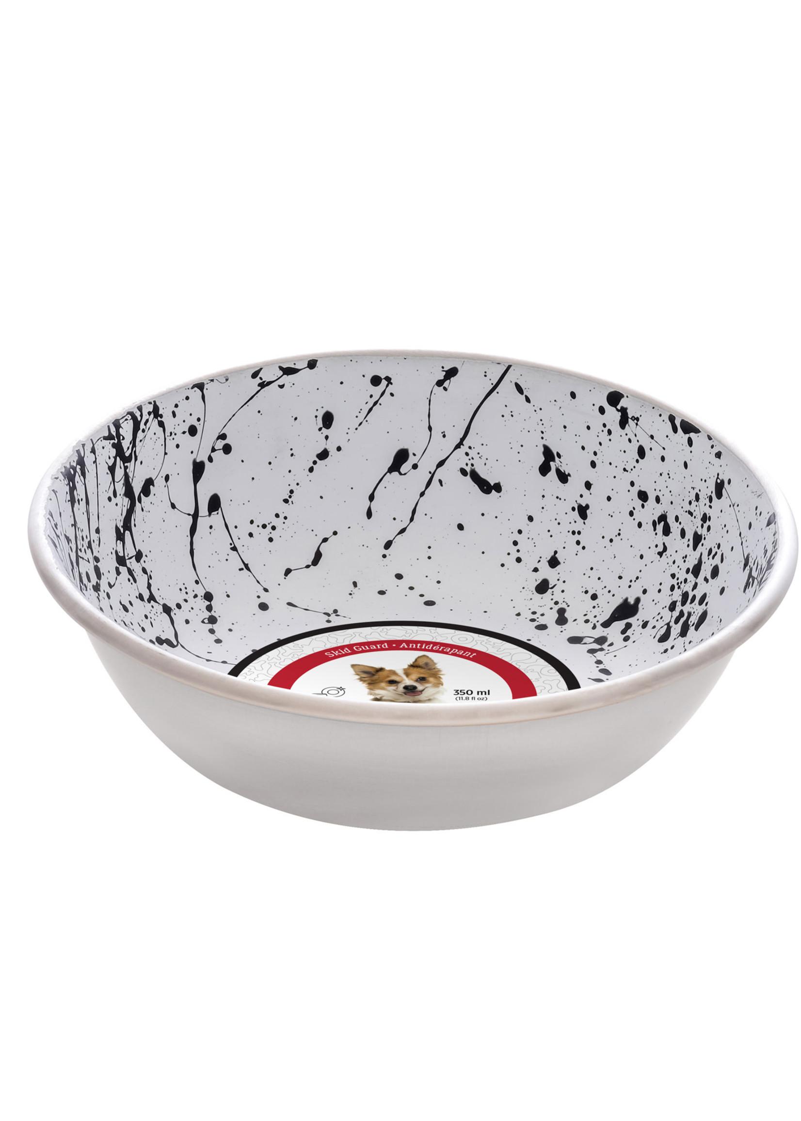 DogIt DO SS Bowl, Fashion Design,B&W,350ml