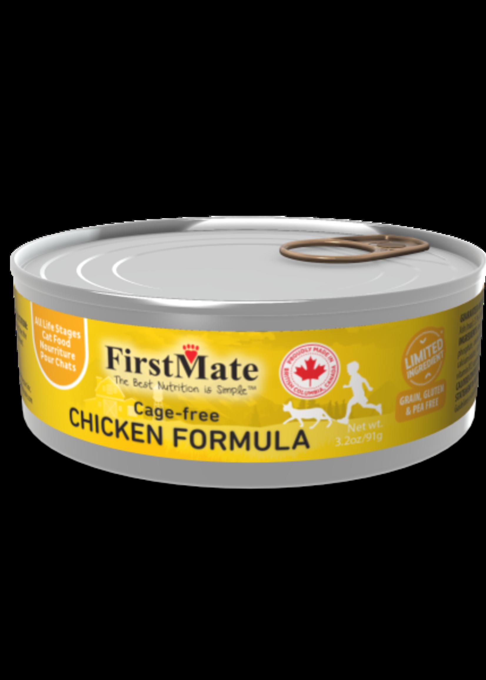 First Mate FirstMate Cat Free Run Chicken 5.5oz