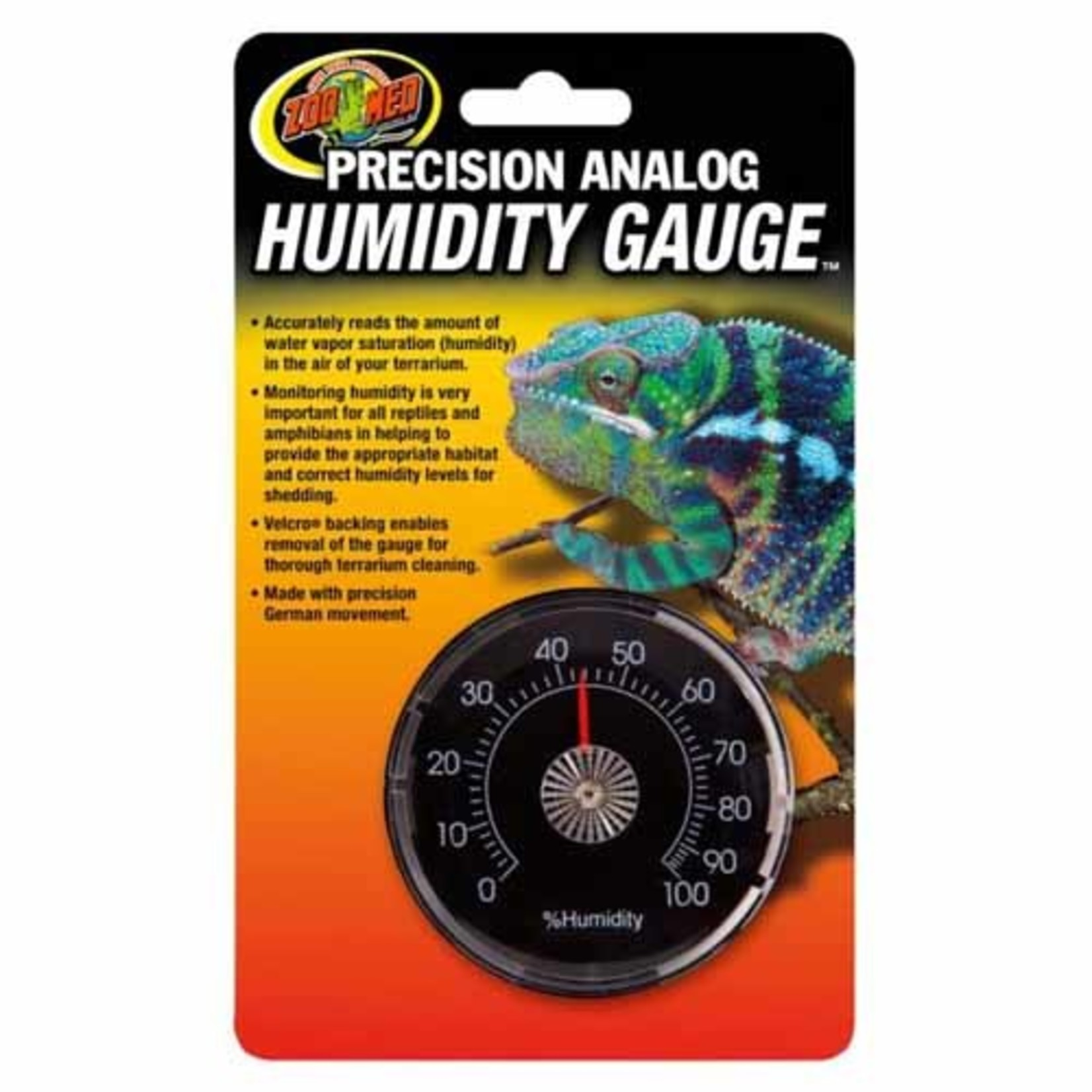 Zoo Med Labs Analog Reptile Humidity Gauge