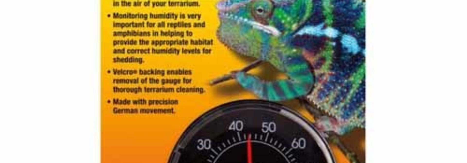 Analog Reptile Humidity Gauge