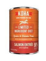 Koha Koha Dog High Protein Diet 90% Salmon w/ Pumpkin 13oz