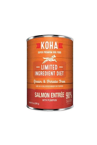 Koha Dog High Protein Diet 90% Salmon w/ Pumpkin 13oz