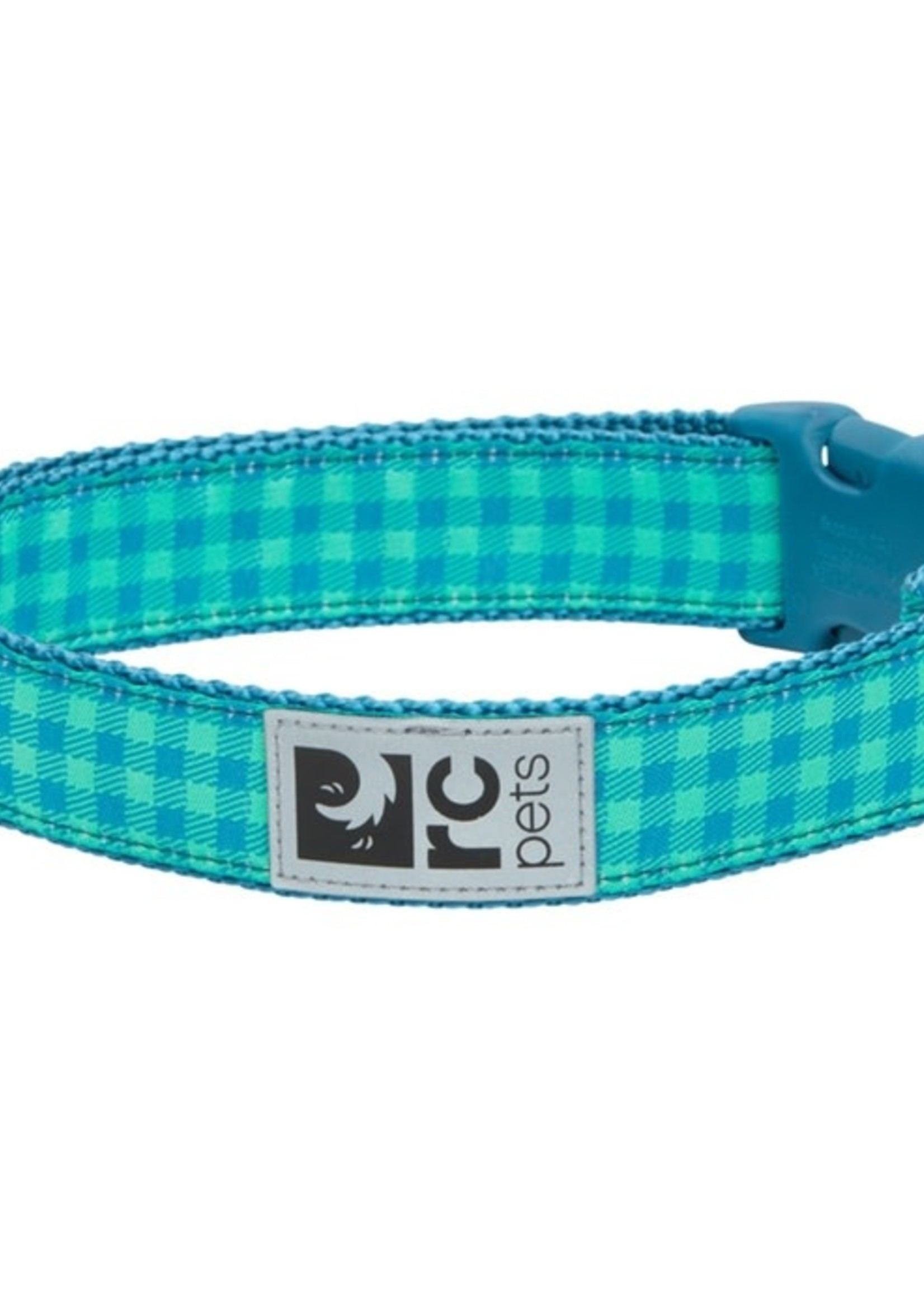 RC Pets Clip Collar - Green Gingham