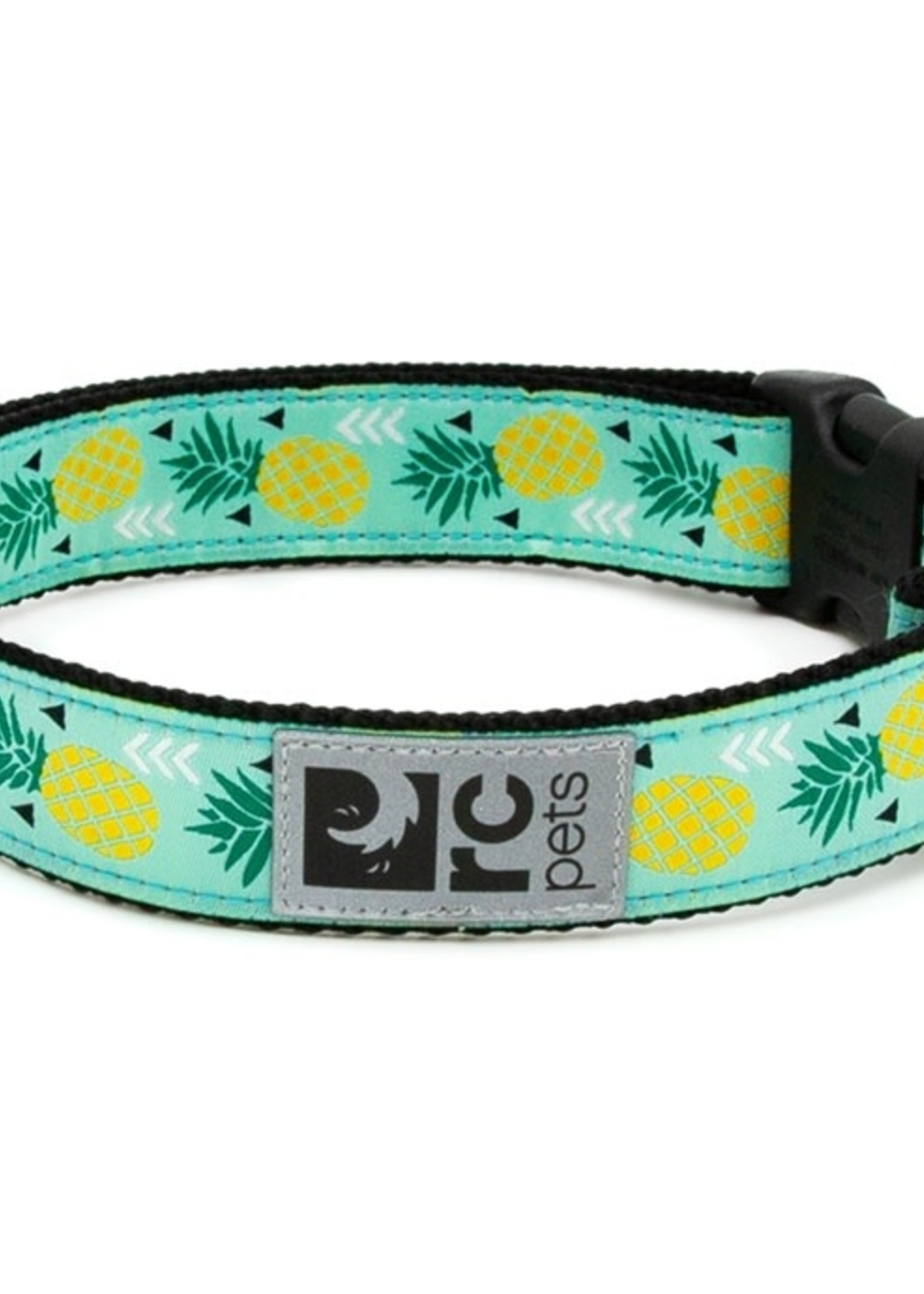 RC Pets Clip Collar M 1 Pineapple Parade