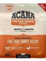 Acana Dog Free Run Freeze Dried Turkey Recipe - Patties  397g
