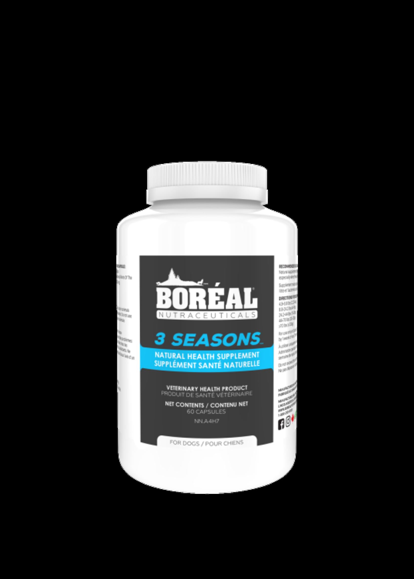 Boreal 3 SEASONS Natural Supplement