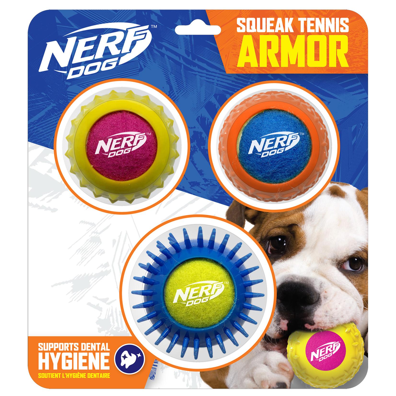 Nerf Dog Tennis Armor 3pk-NF-7259