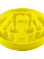 Be One Breed Slow Feeder Yellow Small 8x8