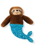 Fringe Mer Sloth Plush Dog Toy