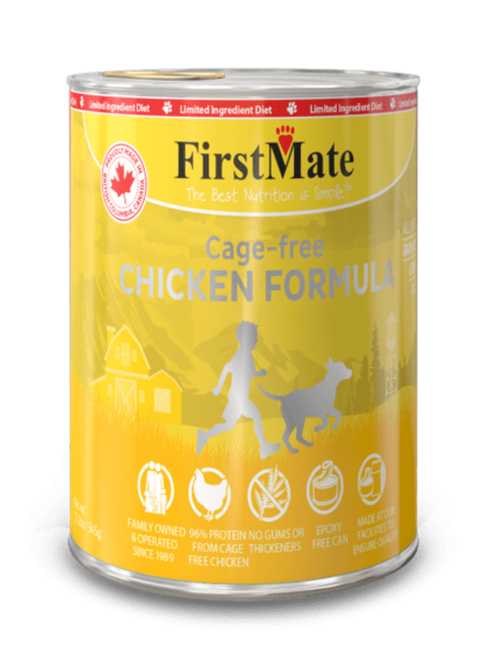 FIRSTMATE Free Run Chicken
