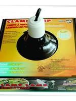 AOLITIAN RF Black Dome Clamp Lamp 8.5 in