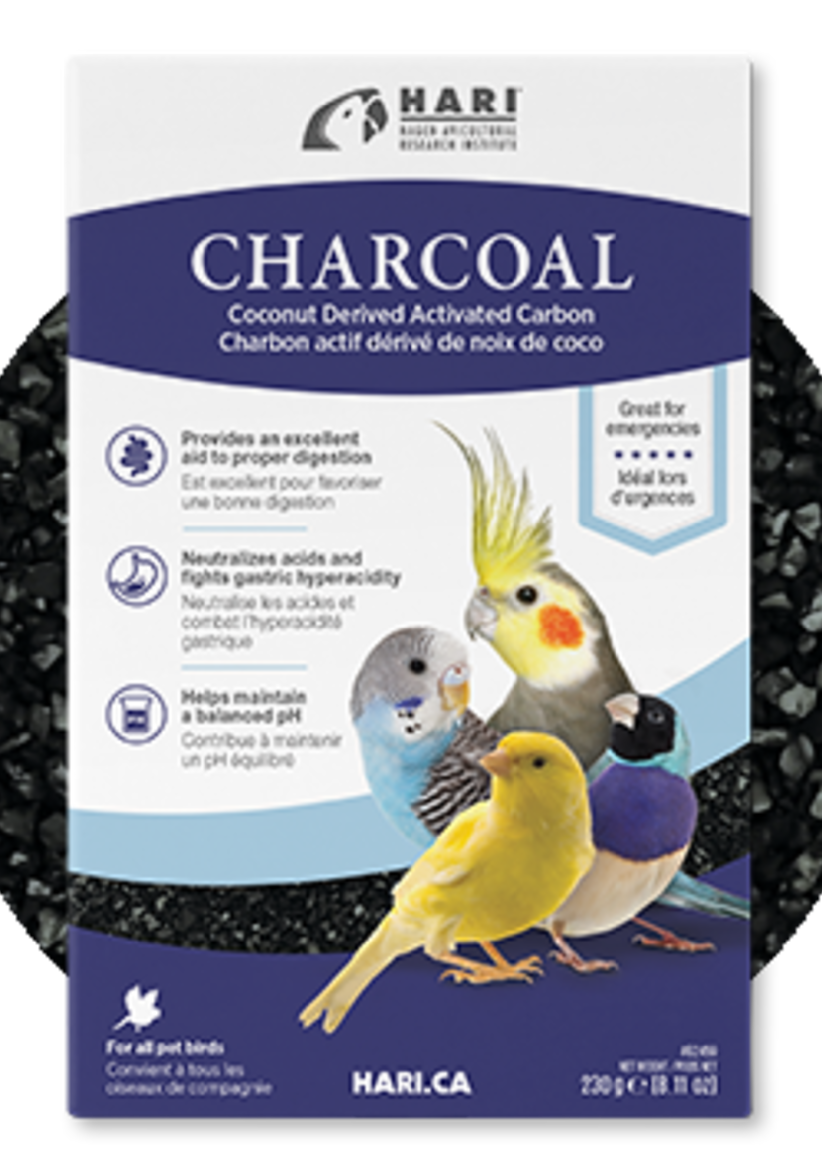 HARI HARI Bird Charcoal, 230g