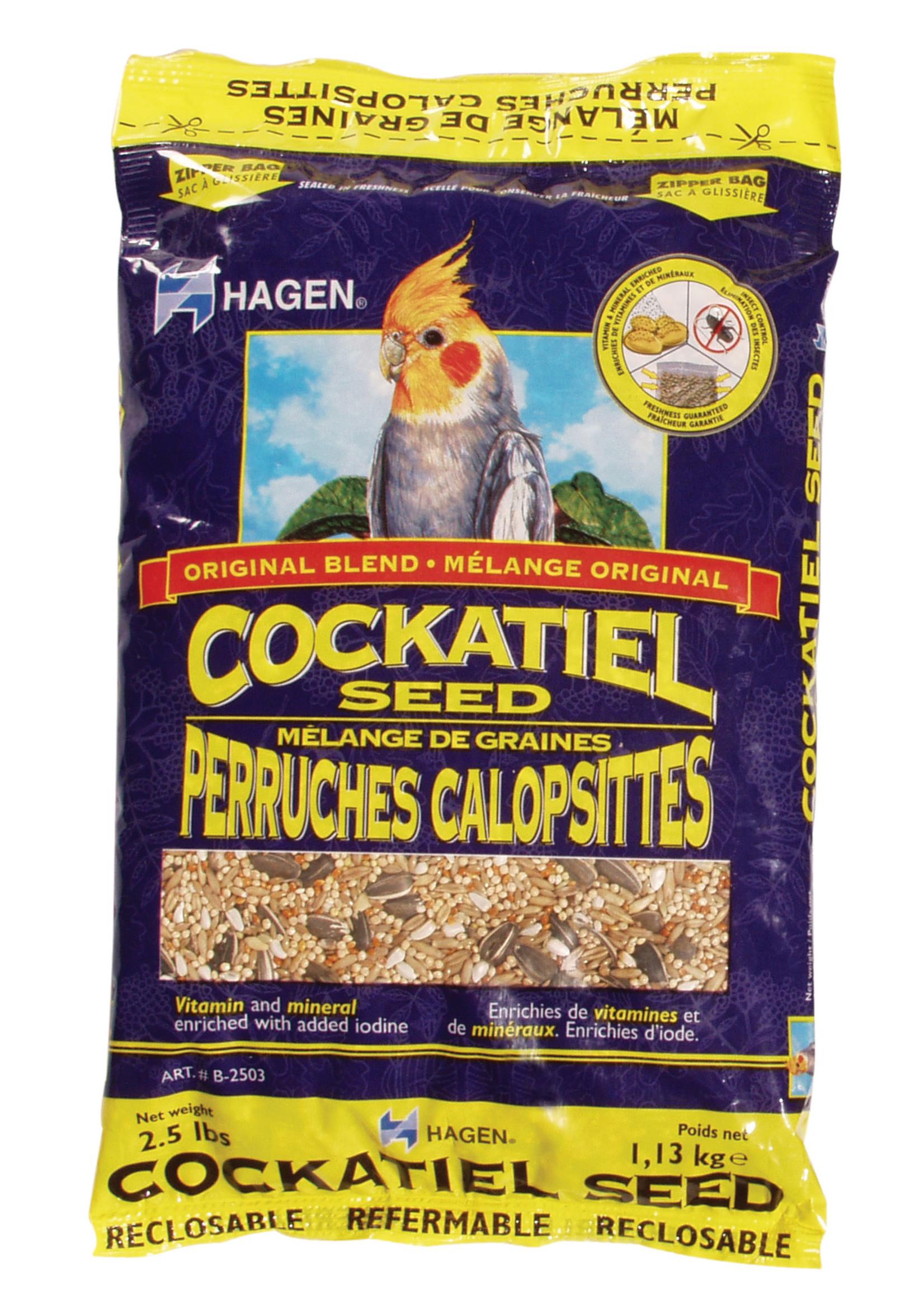 Hagen Cockatiel Staple VME Seed, 1.13 kg (2.5 lb)