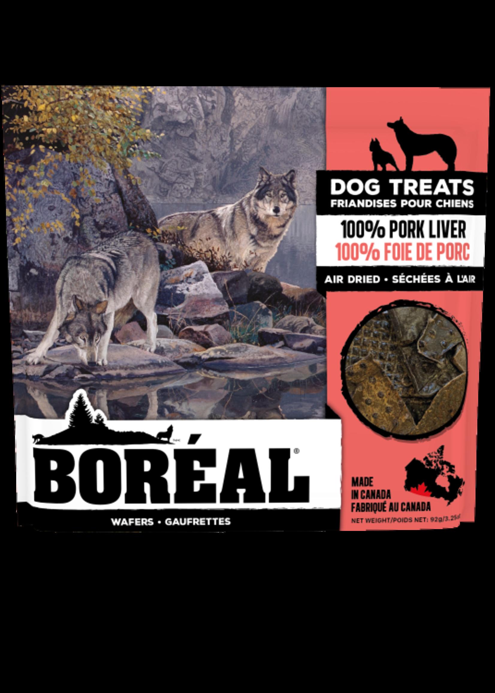 Boreal Boreal 100% Air Dried Pork Liver Wafers - 92g