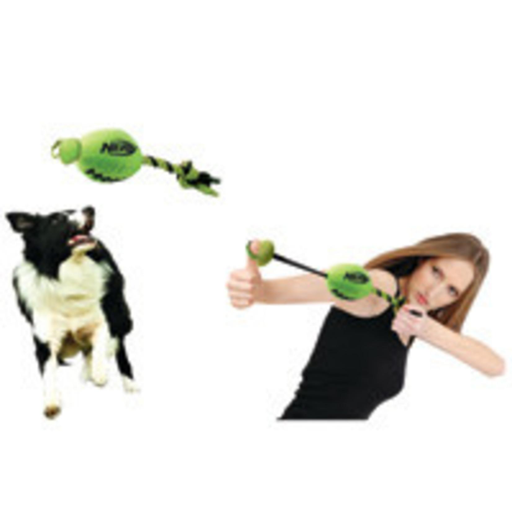 Nerf Dog Slinger Football Green-7012