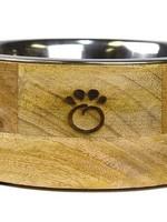 GF Pets GF Pet - Mango Wood Pet Bowl