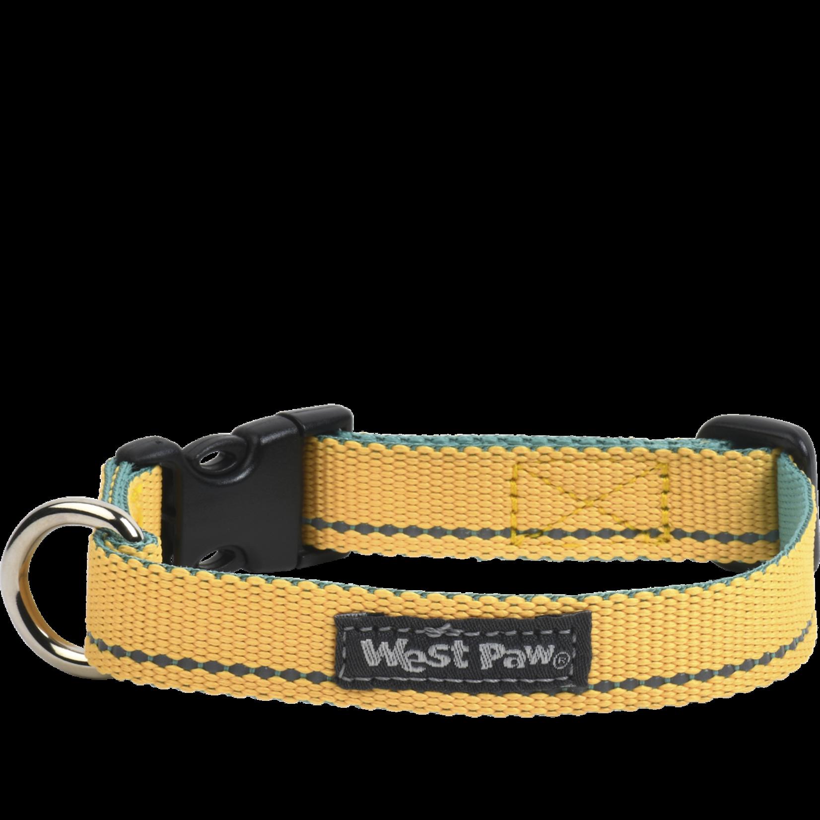 West Paw Strolls Collar - Small - Lemon Tree