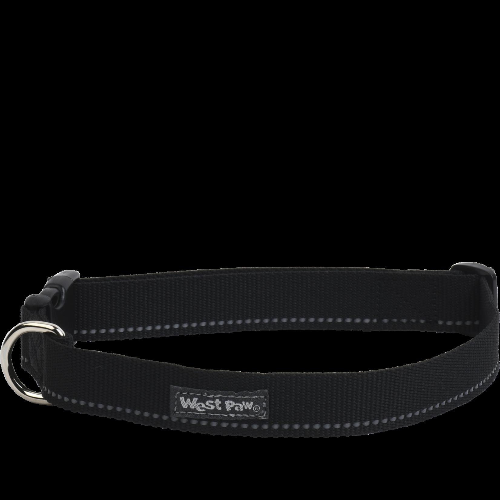 West Paw Strolls Collar - Medium - Black
