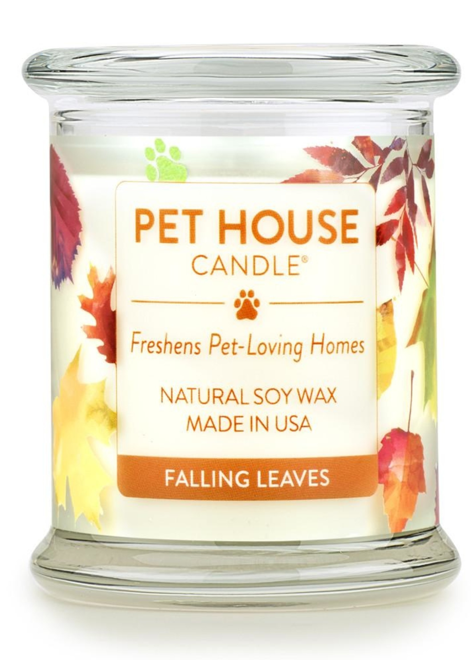 One Fur All Large Candles Fall Leave 8.5oz