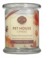 One Fur All Lge Candles Pumpk.Spice. 8.5oz