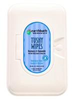 Earthbath Grooming Wipes-Rosemary & Chamomile Tushy Wipes 72ct 100ct