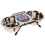 Dogit SS Double Dog Diner, Small-V