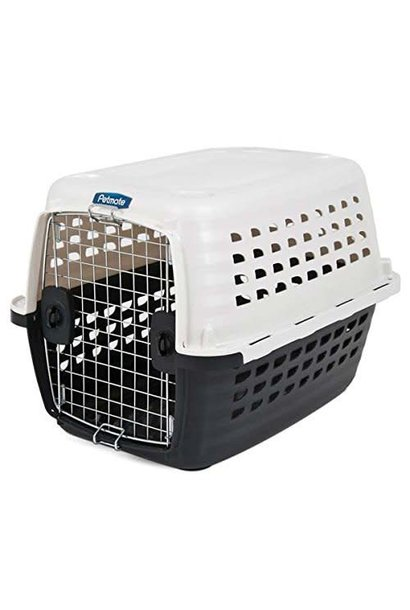 36in Compass Kennel Wh/Bk