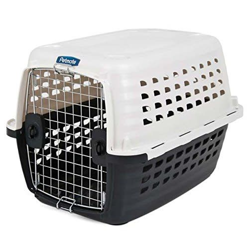 36in Compass Kennel Wh/Bk-1