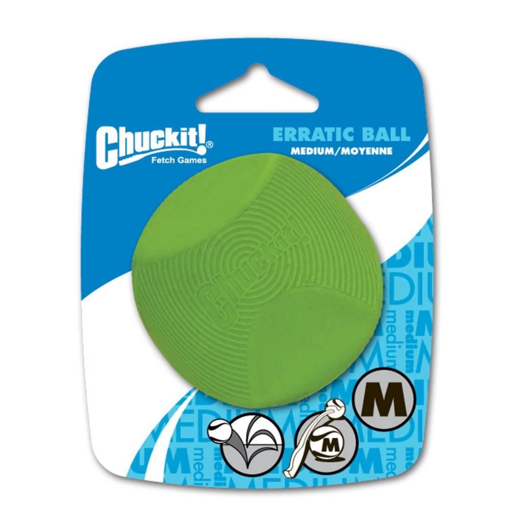 Chuckit! Erratic Ball Med 1pk-1