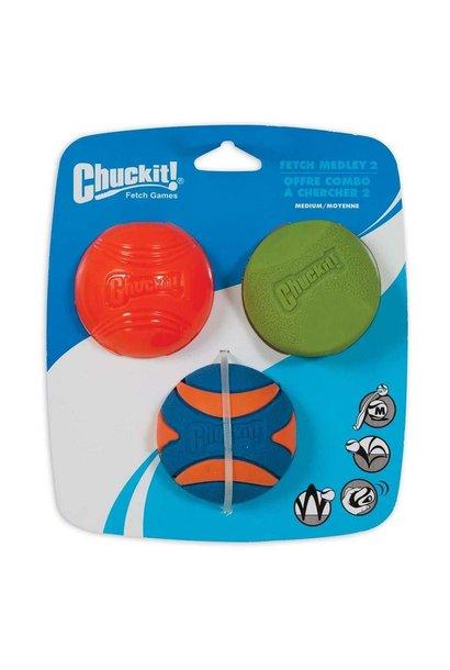Chuckit! Fetch Medley 2, 3pk