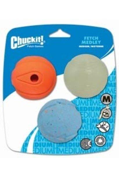 Chuckit! Fetch Medley Med 3pk