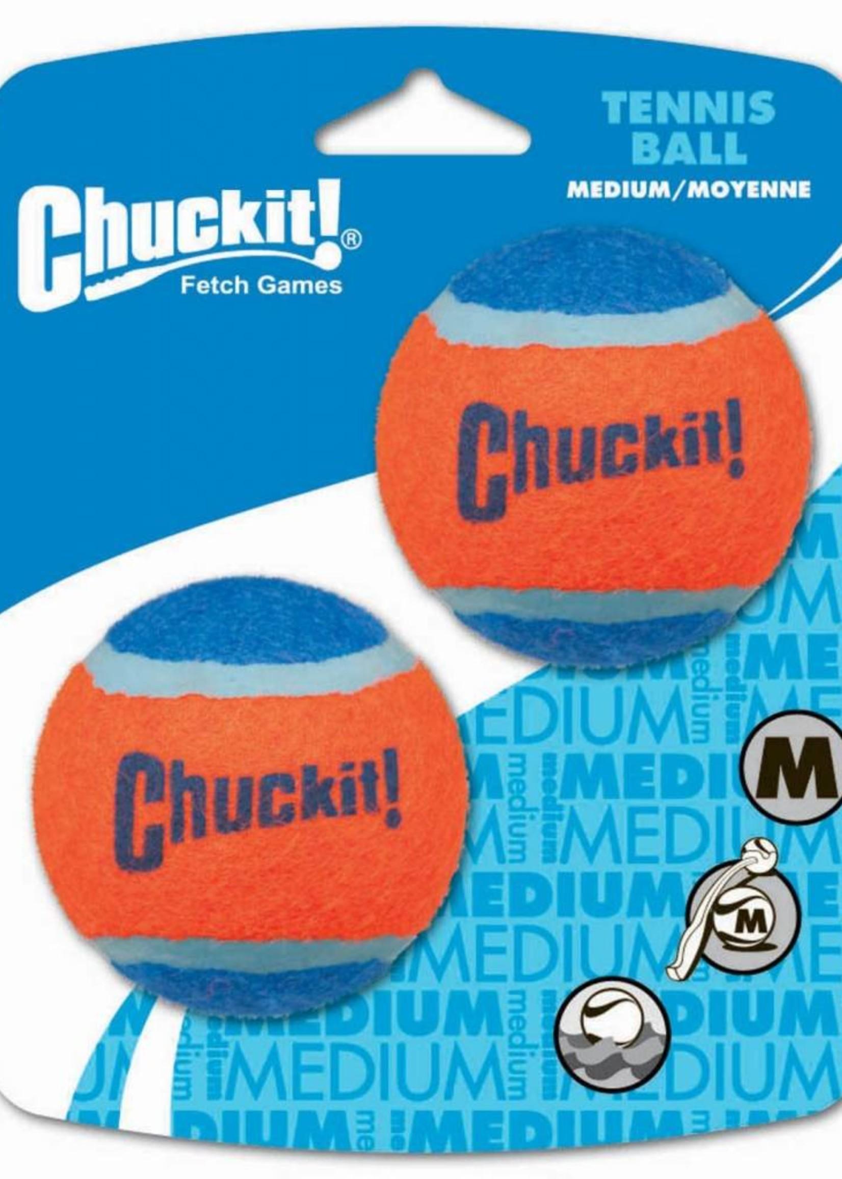 Chuckit! Chuckit! Tennis Ball Med 2pk