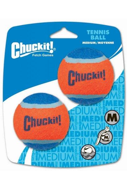 Chuckit! Tennis Ball Med 2pk