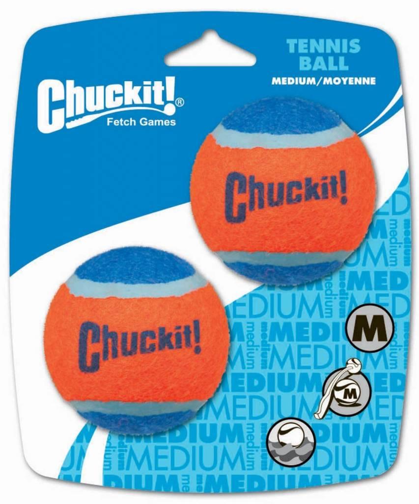 Chuckit! Tennis Ball Med 2pk-1