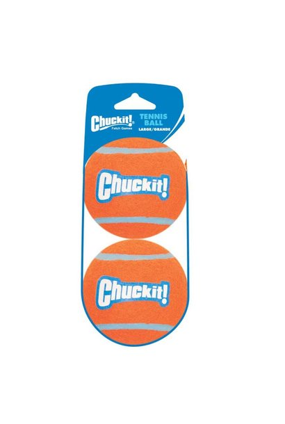 Chuckit! Tennis Shrink Lge 2pk