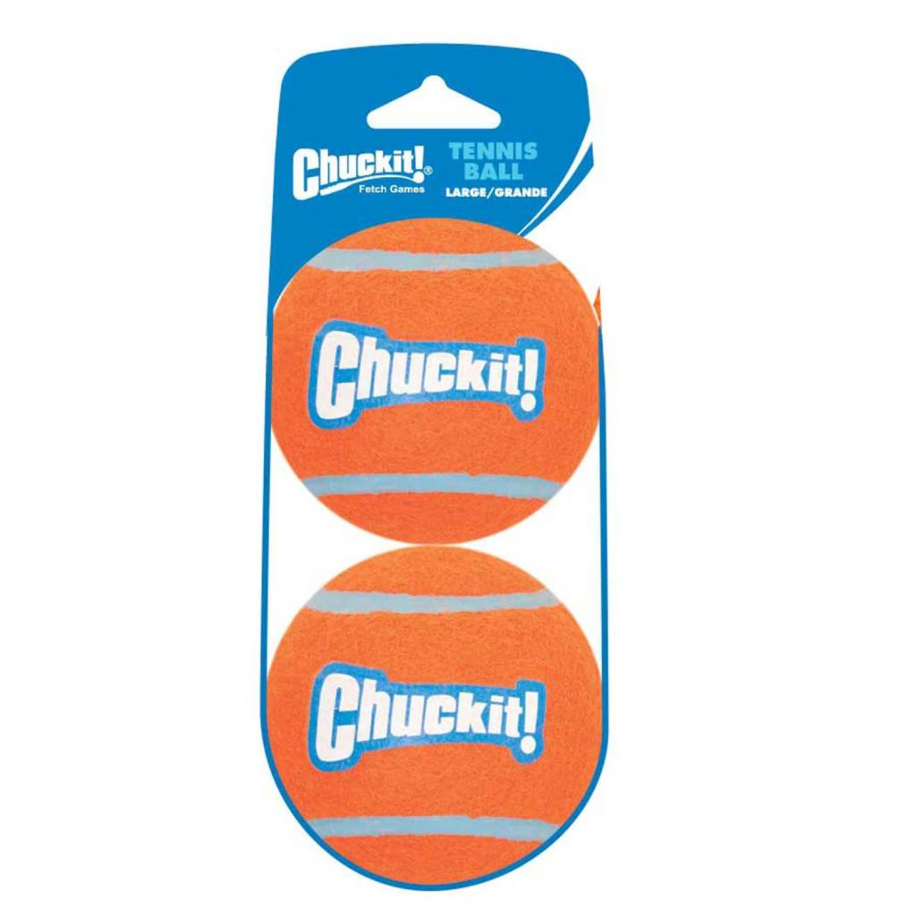 Chuckit! Tennis Shrink Lge 2pk-1