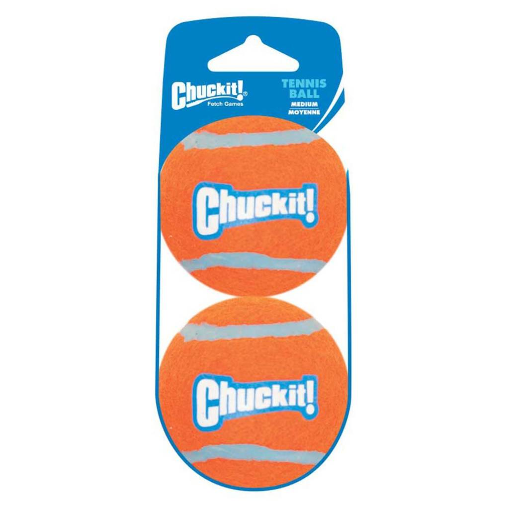 Chuckit! Tennis Shrink Med 2pk-1