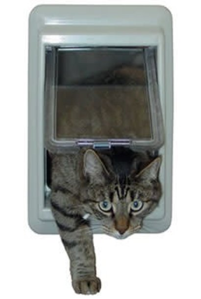 E Cat Door 4 Way Lock 7x9in