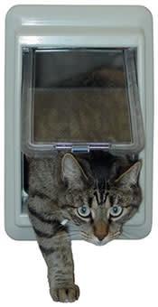 E Cat Door 4 Way Lock 7x9in-1