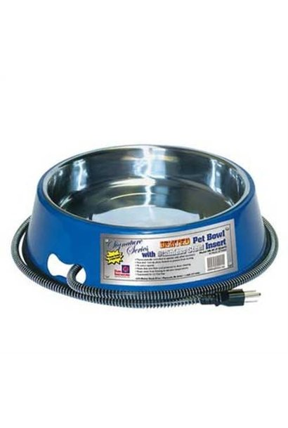 Heated Pet Bowl 3qt