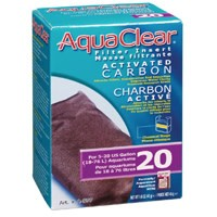 AquaClear 20 Activated Carbon Filter Insert, 45 g (1.6 oz)-1