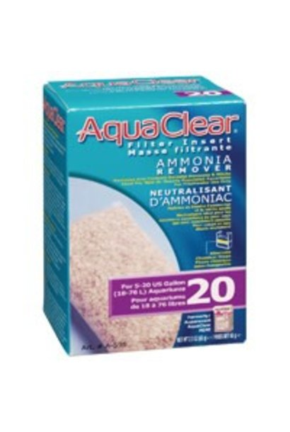 AquaClear 20 Ammonia Remover Filter Insert - 66 g (2.3 oz)
