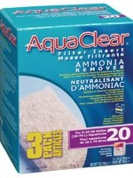 AquaClear 20 Ammonia Remover Filter Insert 3 pack, 198 g (7 oz)