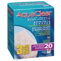 AquaClear 20 Ammonia Remover Filter Insert 3 pack, 198 g (7 oz)-1